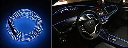 Hallenwerk 2 metri 1 X blu Illuminazione AMBIENTEL 12 V Inverter//Adattatore striscia di luce luce luce luce luce luce ambiente illuminazione per interni moderno effetto elegante EL
