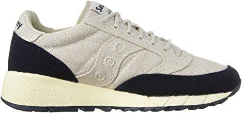 Originali Saucony Mens Jazz 91 Sneakers Fashion Grigio Chiaro / Nero
