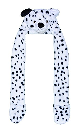 [Animal Hats Chic & Cozy Pet Animal Dress Up Hats (Dalmatian)] (Dalmation Dog Costumes Ideas)
