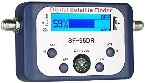 ZHITING-Medidor de señal satelital, buscador de satélite Digital Medidor de señal satelital Mini medidor de buscador de señal satelital Digital con ...