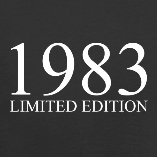 1983 Limierte Auflage / Limited Edition - 34. Geburtstag - Herren T-Shirt - Schwarz - M