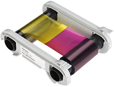 Evolis 6 Panel Color Ribbon - YMCKO-K 200 Prints / Roll R6F003AAA from EVOLIS INC.