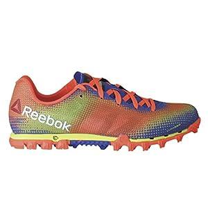 Reebok All Terrain Sprint Womens Running Shoe 11 Yellow-Orange-Purple