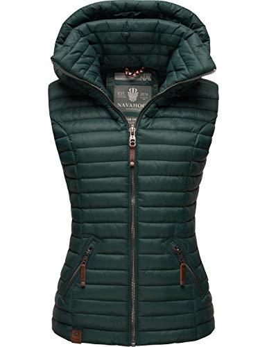 Navahoo Dames gewatteerd vest met afneembare capuchon Shadaa XS-3XL