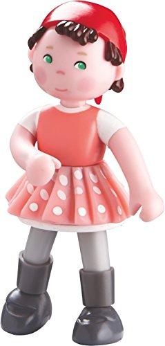 """HABA Little Friends Lisbeth - 4"""" Bendy Girl Figure Baby Doll"""
