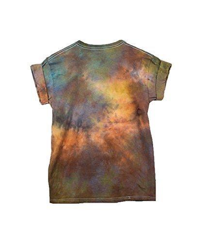 Burning Man Tie Dye Unisex T-Shirt Pattern Shirt short Sleeve Plus Size S, M, L, XL, XXL, XXXL