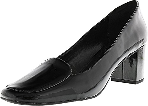 Isaac Mizrahi Live! Womens Sophia Leather Ankle-High Pump Black SZIpsuv