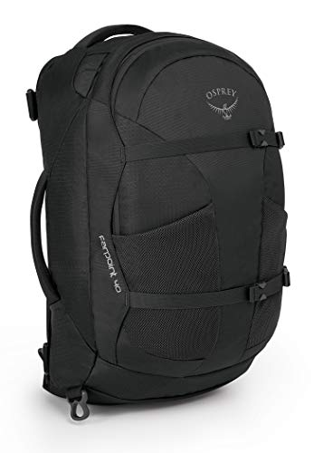 Osprey Men Farpoint 40 Hiking Travel Backpack - Volcanic Grey, Medium/Large