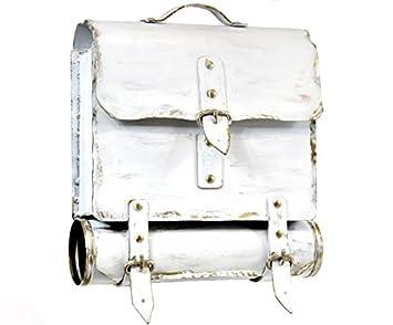 Wamat au/ßergew/öhnlich Briefkasten Postkasten rostfreier Stahl echte Schmiedekunst braun