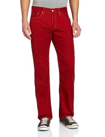 Levi's Men's 514 Straight Fit Fashionable Soft Washed Twill Pant, Auburn, 30x29