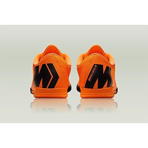 Nike Vaporx 12 Academy IC, Scarpe da Fitness Unisex – Adulto Multicolore (Total Orange / Black 810)