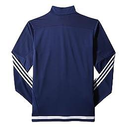 adidas Men\'s Soccer Tiro 15 Training Jacket, Dark Blue/White/New Navy, X-Large