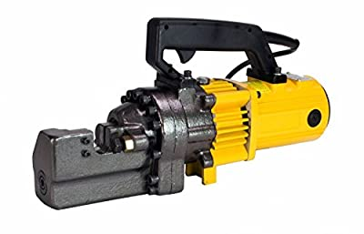 "Portable 110V Electric 3/4"" #6 Hydraulic Rebar Cutter 1400 Watt 5 Second Cutting"