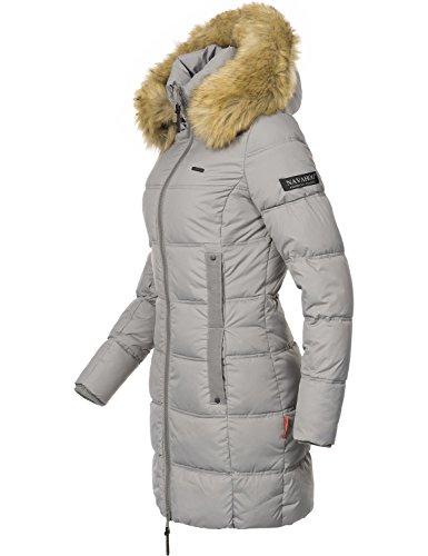 ... Navahoo Damen Mantel Steppmantel Wintermantel Quitscheente (vegan  hergestellt) 7 Farben + Camouflage XS- ... 07ea557b49