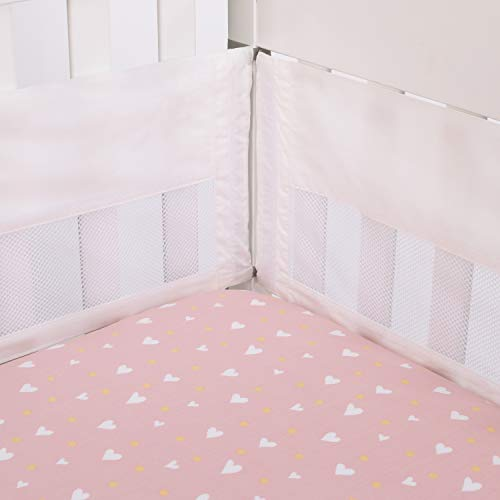 ED Ellen DeGeneres Cotton Tail - Ivory Secure-Me Crib Liner, Ivory, ()