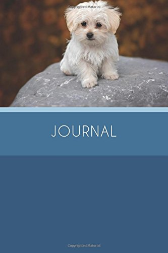 Journal (6x9 Journal): Maltese Puppy, Lightly Lined, 120 Pages, Perfect for Notes and Journaling PDF
