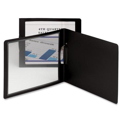 Wholesale CASE of 15 - Smead Frame View Landscape Report Cover-Report Cover w/Swing Clip, Letter,30 Sht Cap,5/PK, BK Oyster