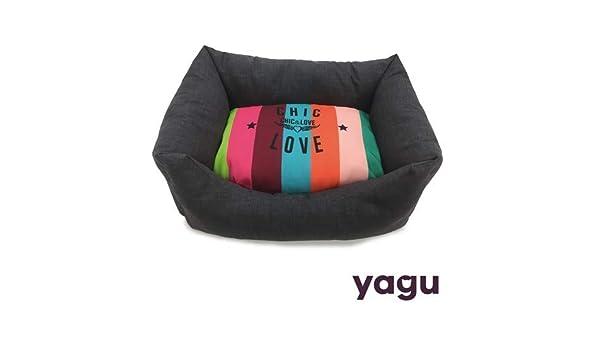 Yagu Cuna para Perros y Gatos Chic&Love Arcoiris (T-4 74 x 61 x 22 CM): Amazon.es: Productos para mascotas