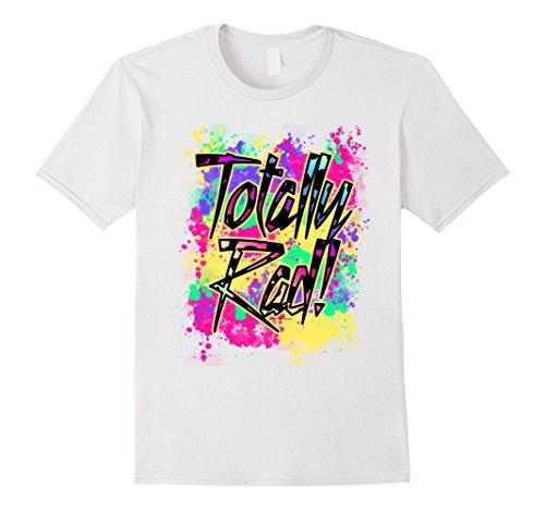 Mens Totally Rad 80s Paint Splash Color Run