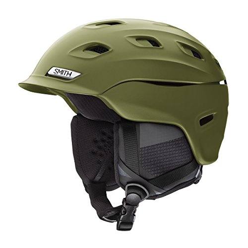 Smith Optics Vantage Adult Mips Ski Snowmobile Helmet - Matte Olive/Small (Helmet Matte Olive)