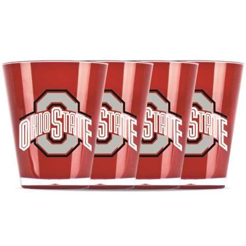 Duck House NCAA Ohio State Univ Insulated Mini Tumbler (4 Piece Set), One Size, Multicolor