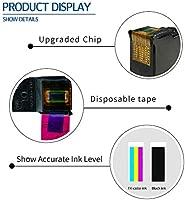 Kyansin Remanufacturado HP 304 XL HP304 Alto Rendimiento Cartuchos de Tinta (N9K08A / N9K07A) Compatible con HP Deskjet 2600 2620 2622 2630 2632 2633 ...