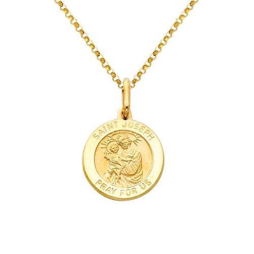 st joseph medal gold - 2