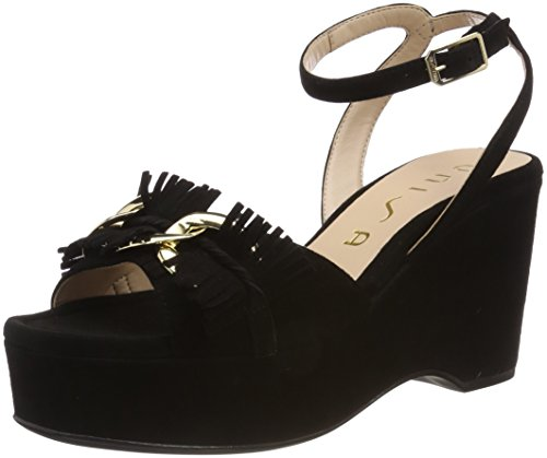 Unisa WoMen Noda_ks Ankle Strap Sandals Black