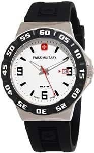 Swiss Military 06-4R1-04-001 - Reloj de caballero de cuarzo, correa de caucho color negro