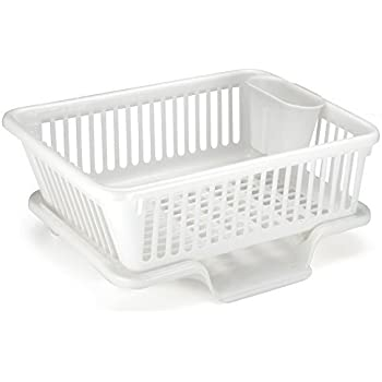 high grade extra large plastic dish drainer plate and cutlery rack holder chilli. Black Bedroom Furniture Sets. Home Design Ideas