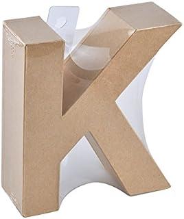 Glorex Papp della Lettera K Natura K