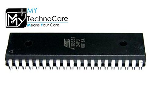MY TechnoCare AT89S52 IC ATMEL 8051 Microcontroller 40 Pin