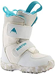 2022 Burton Mini Grom Junior White Size 12C Snowboard Boots