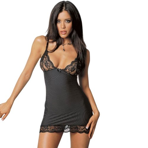 ANDI ROSE Lingerie Sexy Lace Corset Dress G-strings Underwear Sleepwear Outfit Set