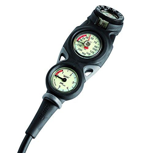 Mares Mission 3 Scuba Dive Console w/ Compass (Scuba Console)