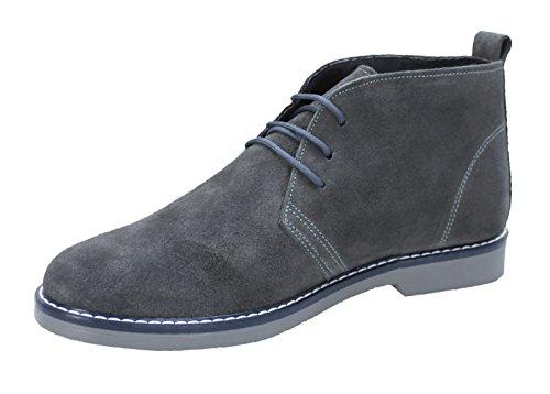 AK collezioni - Zapatos de cordones para hombre gris gris 40