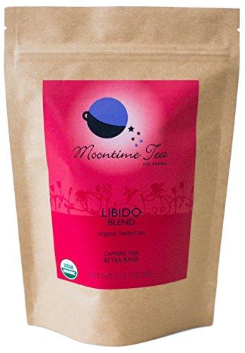 Organic Libido Tea, 30 Tea Bags (Damiana Leaves)