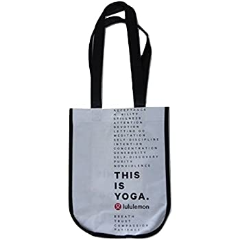 Amazon.com: LULULEMON NEW SHOPPING LUNCH GYM TOTE BAG YOGA