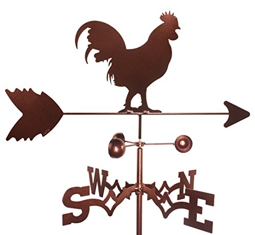 SWEN Products ROOSTER Weathervane (Roof Mount Included)