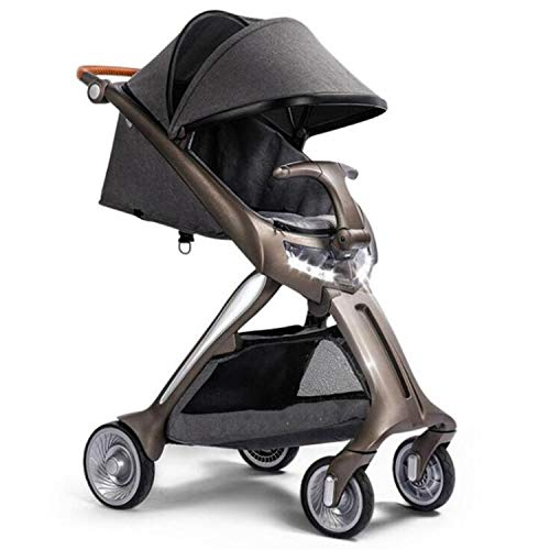 BABIFIS Portable Baby Stroller with Light Aluminium Alloy High Landscape Carriage Lightweight Pram Folding Strollers