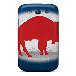 Marycase88 Samsung Galaxy S3 Protective Hard Cell-phone Case Customized Colorful Buffalo Bills Image [hHV14292uHWP]