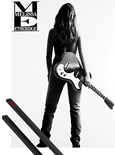 Poster + Hanger: Melissa Etheridge Guitar and 1 set of black 1art1 Hangers