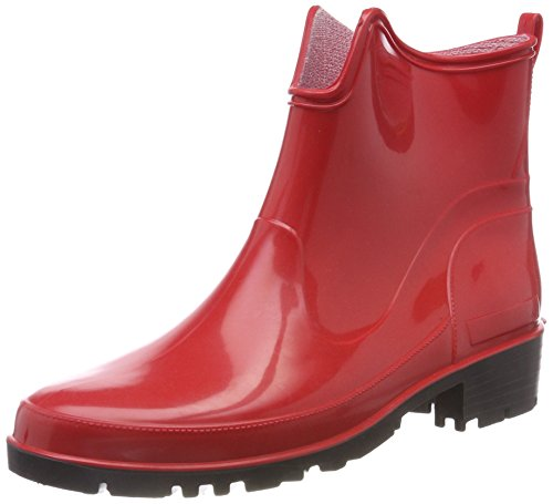 Ankle Wellington Elke Lemigo Red Rubber Womens 930 Boots 6qUcv4cw
