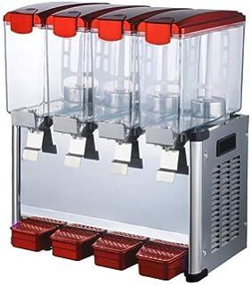 Envío gratuito a la puerta 4 * 9L Tanques dispensador de zumo Frozen bebidas Frozen frutas zumo dispensador de bebidas…