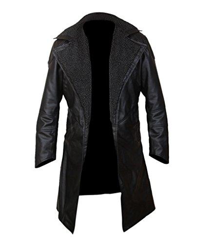 Runner Black Front Blade Men's 2049 Open Faux Lined F Fur amp;H Coat qO7Atp