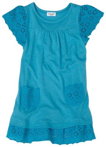 Splendid Littles Eyelet Short Sleeve Dress, Aqua, 12 18 Months ()