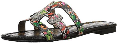 Edelman Multi Sandals Sam Cactus Bay Women's Blooming Flat Bright 6qY4xda4w