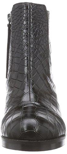 Buffalo London 414-0913 CROC PU - botas de material sintético mujer negro - negro (negro 01)