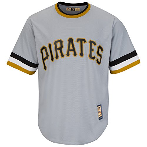 Majestic Athletic Men's Pittsburgh Pirates Willie Stargell Cooperstown Jersey Sm