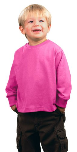 Rabbit Skins Baby's 5.5 oz. Jersey Long-Sleeve T-Shirt ,5T/6